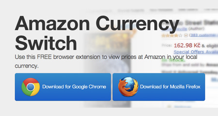 Amazon Currency Switch Extension
